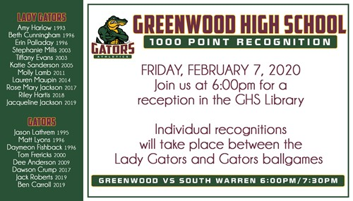 1000 Point Recognition