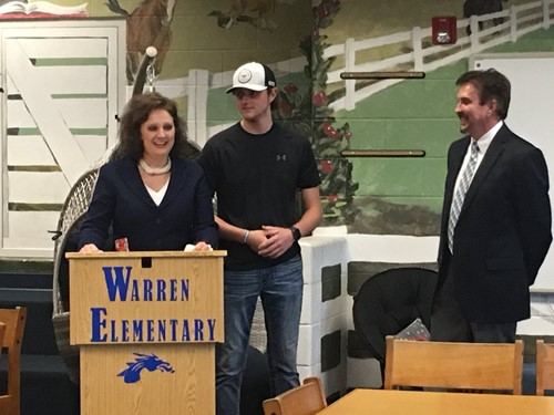 Warren El Principal Announcement