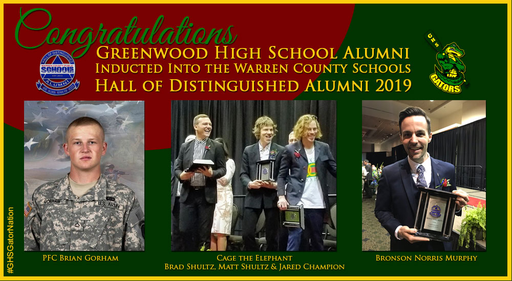 Hall of Distinguished Alumni 2019