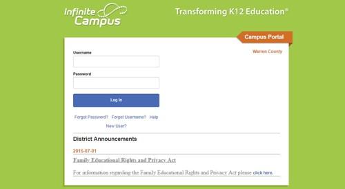 WCPS Parent Portal Student Information Update - Greenwood High School