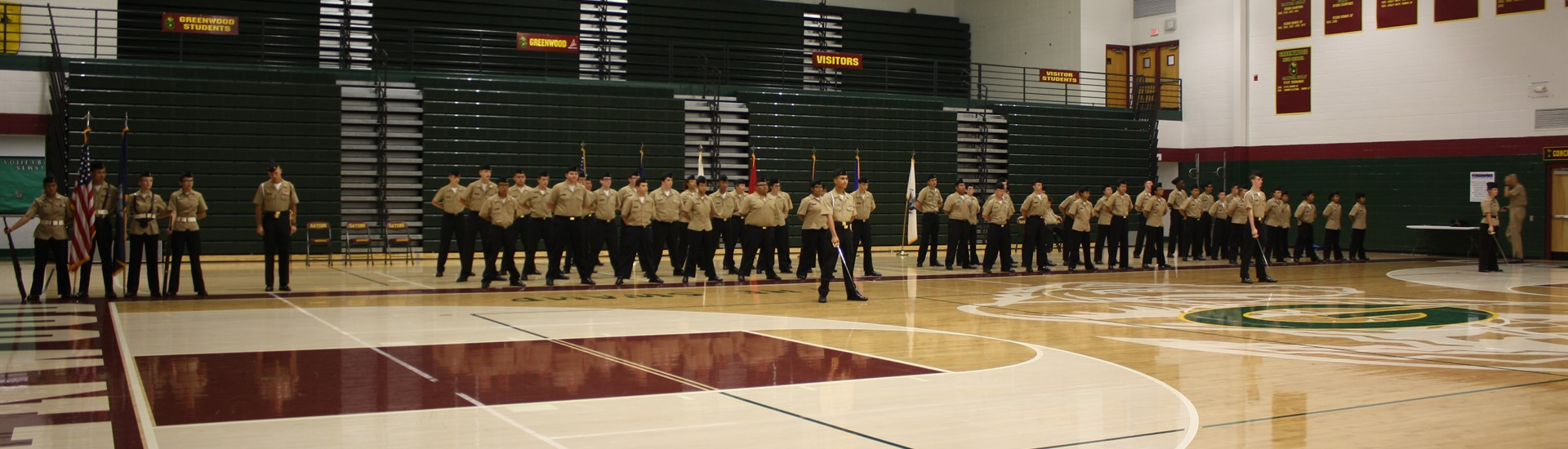 NJROTC INspection'
