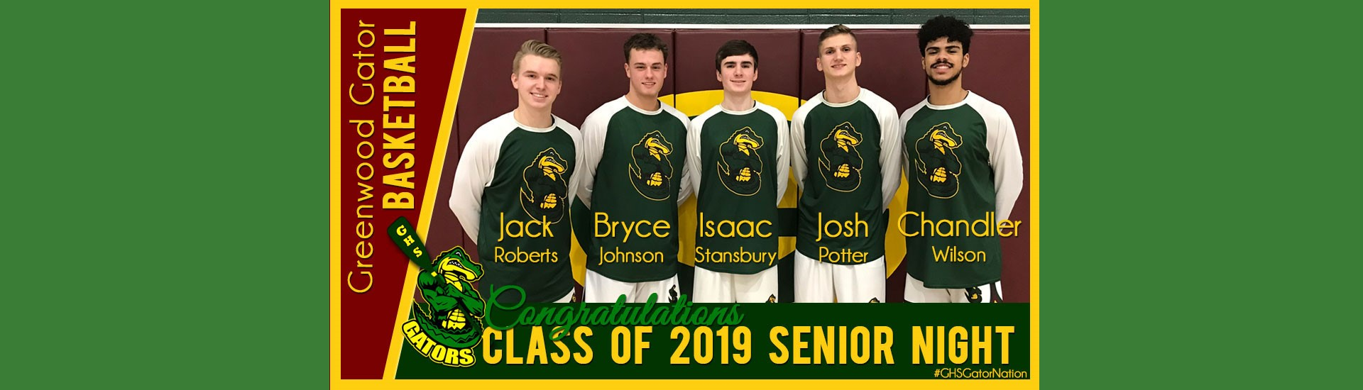 Boys' Basketball Senior Night