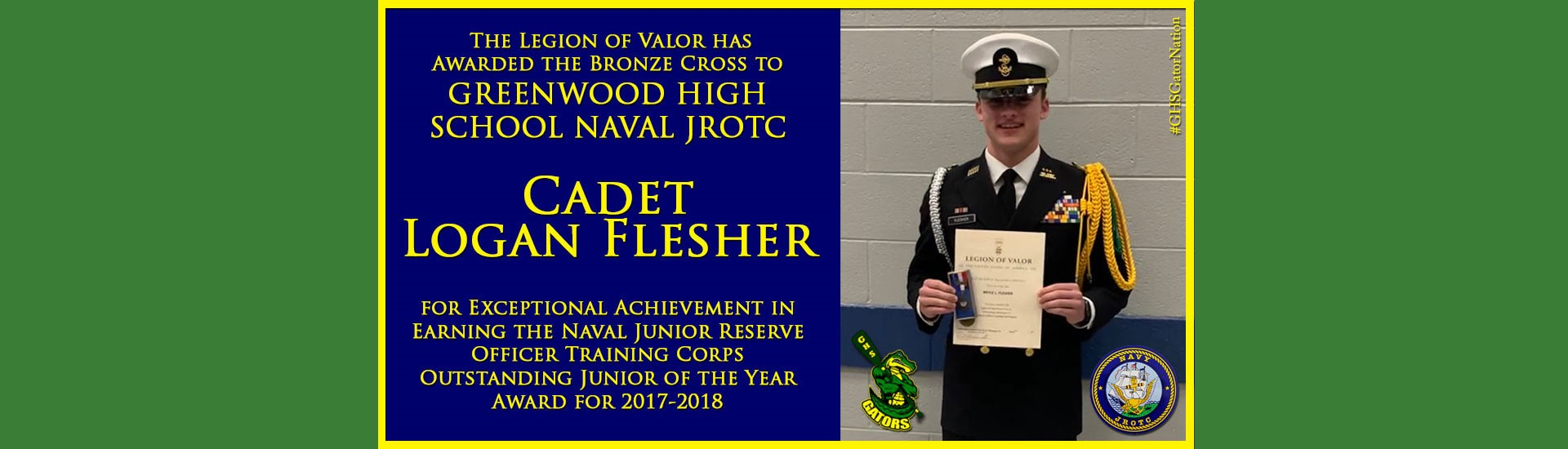 Cadet Logan Flesher