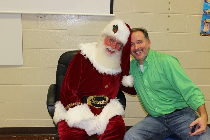 A special night of fun and a special visitor!  December 2015