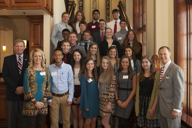 Outstanding scholars from Greenwood, South Warren, Warren Central and Warren East are recognized.