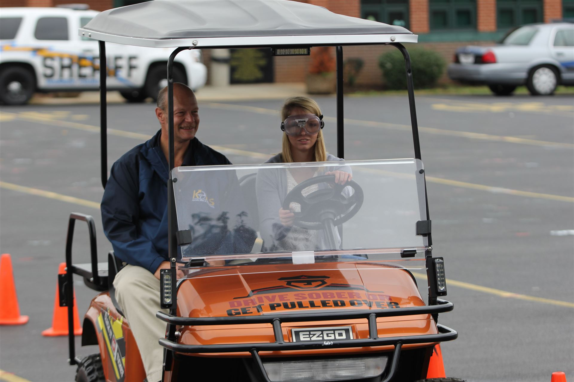GHS students learned important lessons about impaired driving and distracted driving.