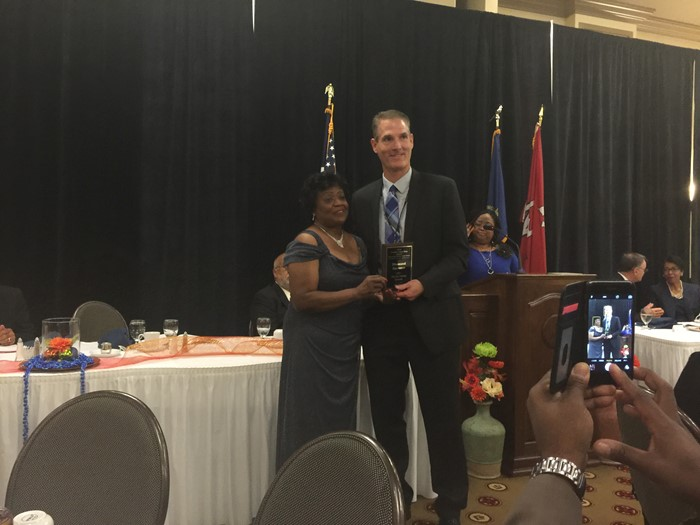 WCPS recognized at NAACP banquet.