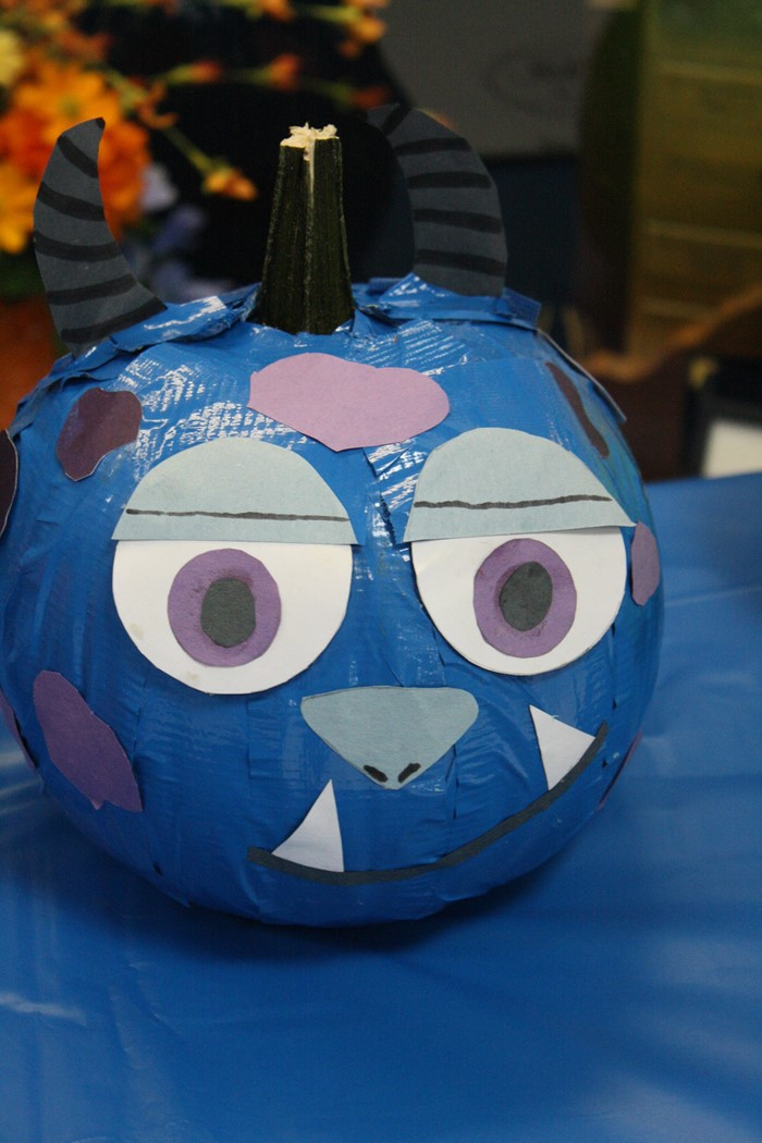 Pumpkin Painting and Character Day at Natcher Elementary.