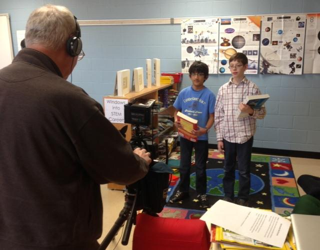 WBKO-TV filmed a PSA for Gifted Education Week.
