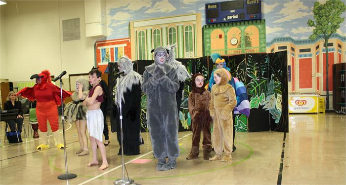 Jungle Book presentation