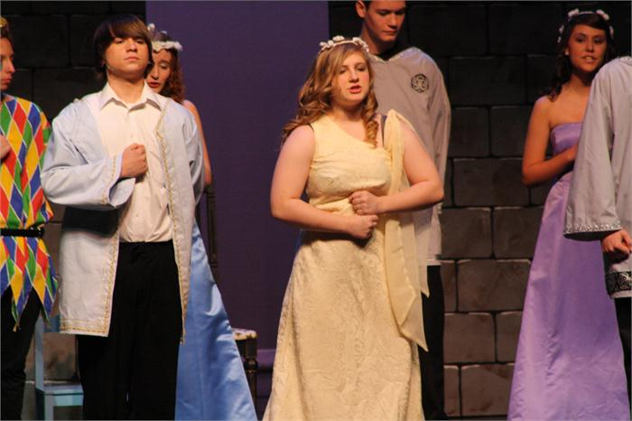 "Students present ""Once Upon A Mattress"""
