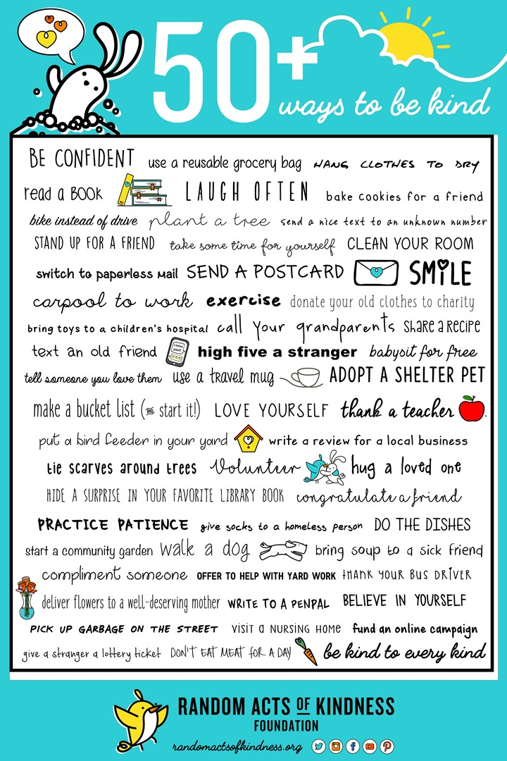 Random Acts of Kindness Poster
