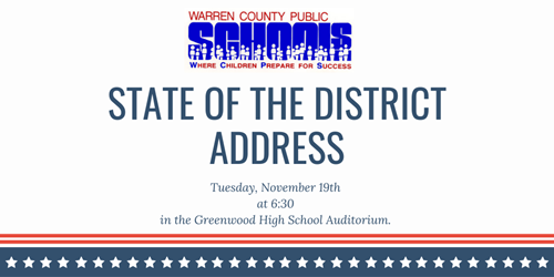 State of the District Graphic