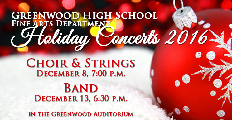 GHS Holiday Concerts