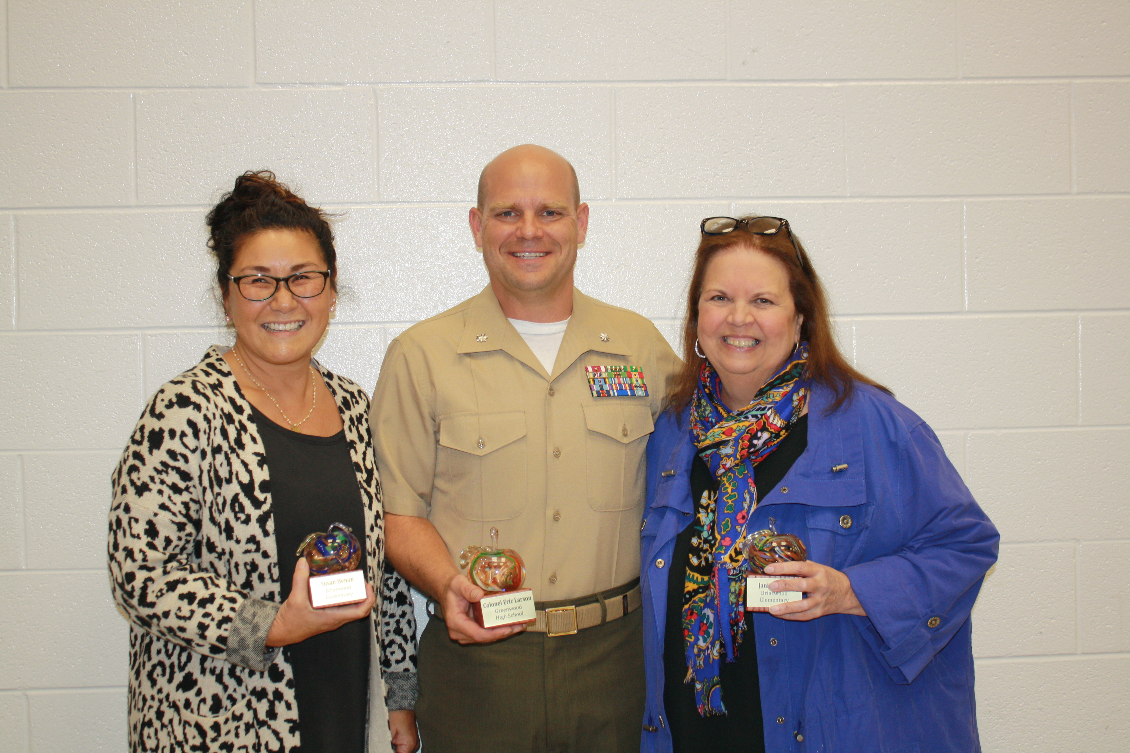 October Golden Apple Winners