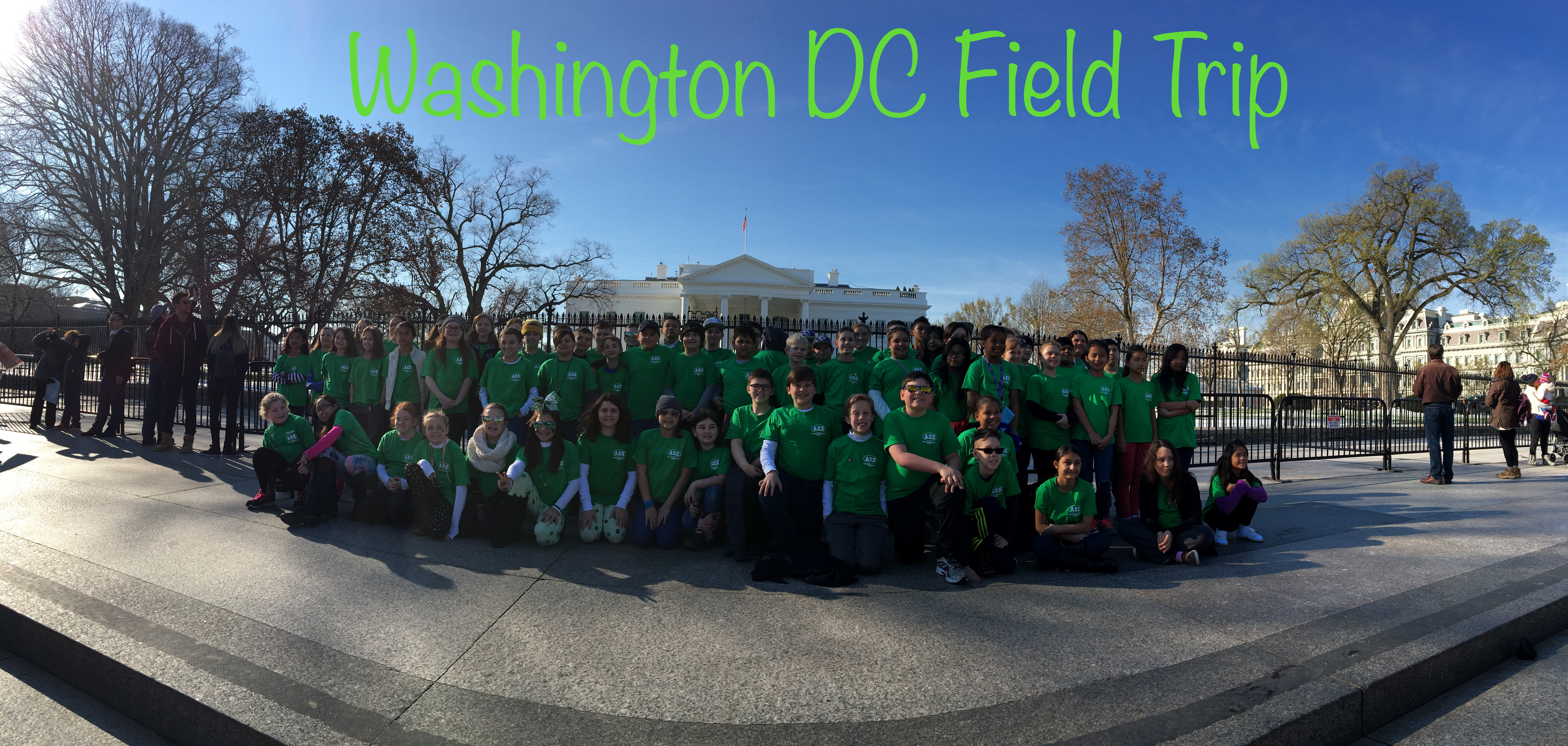 Washington DC Fieldtrip