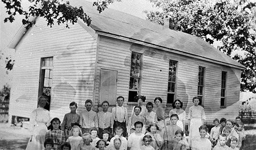 Rich Pond School 1908-1919  Visit the HISTORY page to see more!