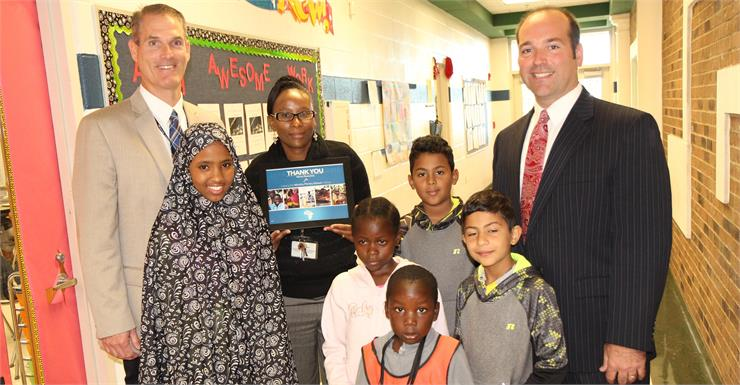 Warren Elementary honored for helping school in Kenya through H2O for Life