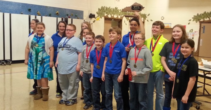 North Warren's Academic Team placed 2nd in the Governor's Cup!