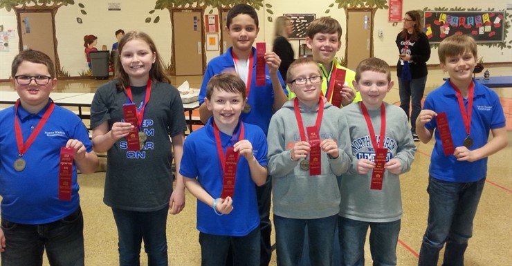 NWES Quick Recall Team placed 2nd in the Governor's Cup!
