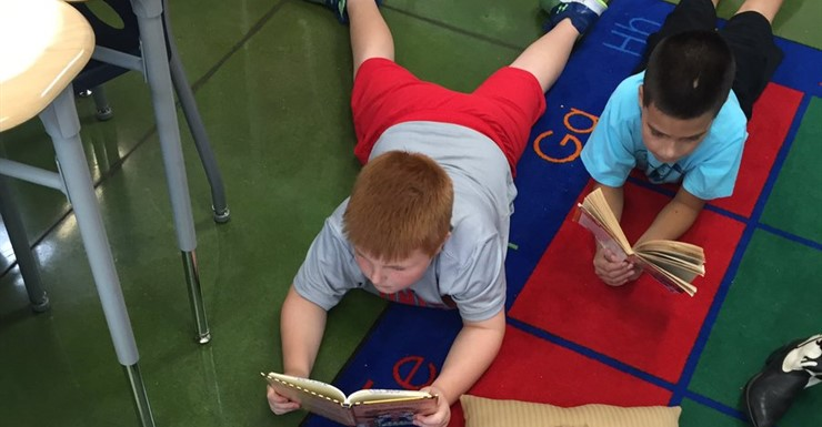 Building Reading Stamina to become focused readers!