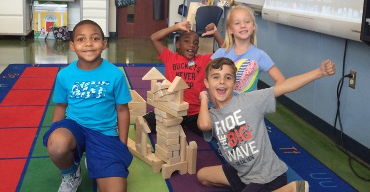 Awesome architecture! Indoor recess can be fun!