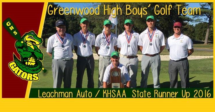 Greenwood Boys' Golf State Runner Up