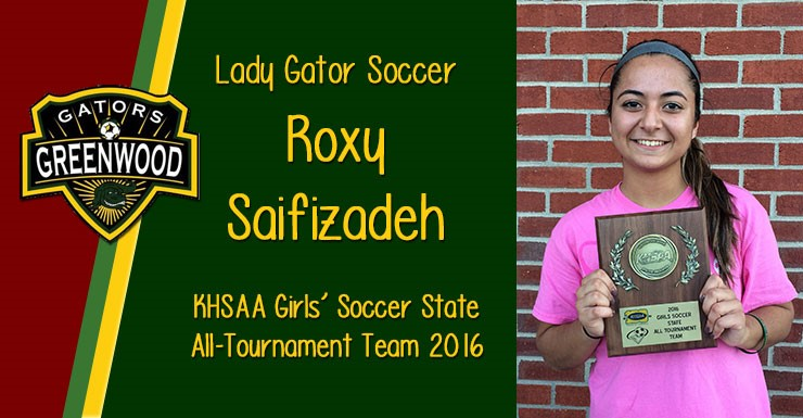 Roxy Saifizadeh Girls' Soccer State All-Tournament Team