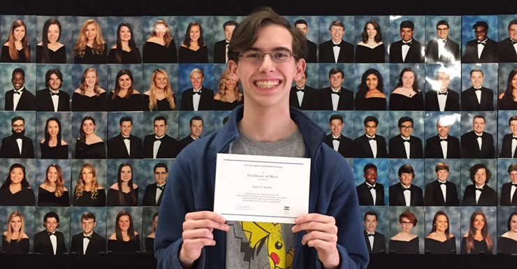 Austen Seidler National Merit Finalist