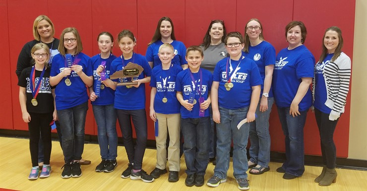 North Warren Academic Team Takes Runner Up at Governor's Cup and moves to Regionals-March 4