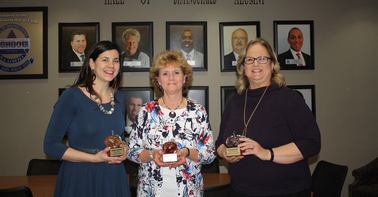 March Golden Apple Award Winners