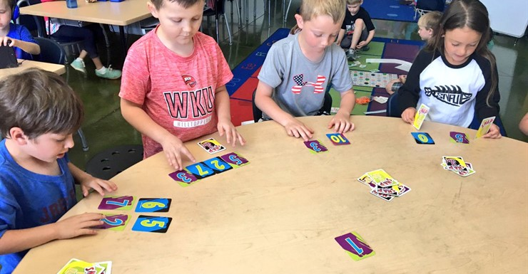 Math games are a fun way to learn!