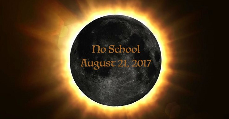 No School August 21, 2017 - Make-up on February 19, 2018