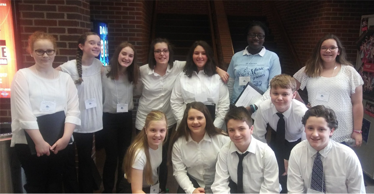 SWMS students participate in KyACDA All-State Choir.