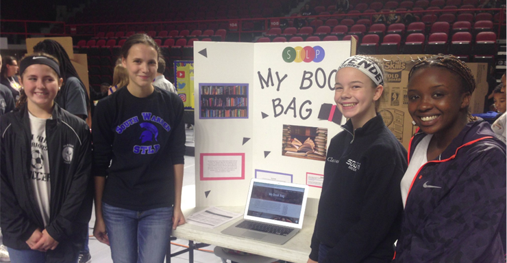 STLP My Book Bag Team changing the way people think about reading.