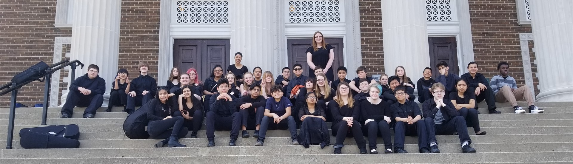 HMMS Strings students participate in KMEA performances at WKU