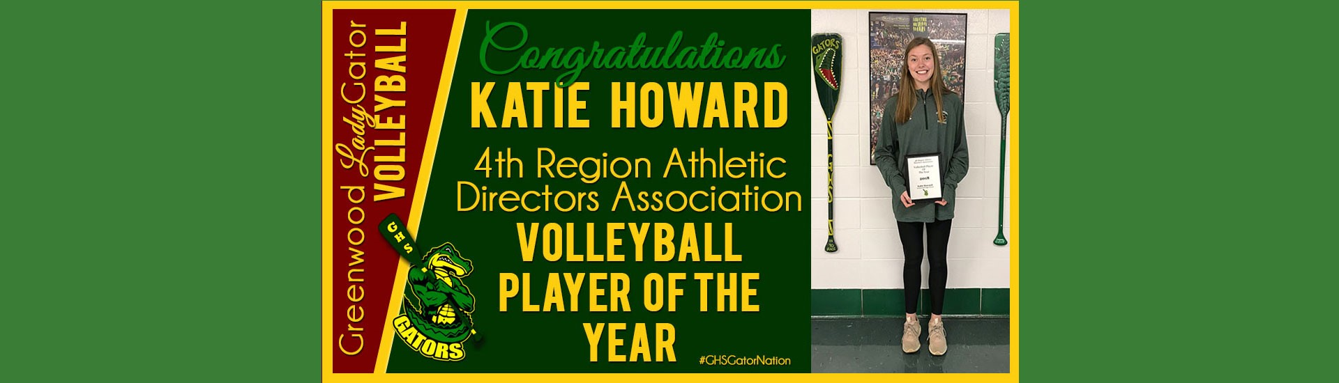 Katie Howard Volleyball Player of the Year