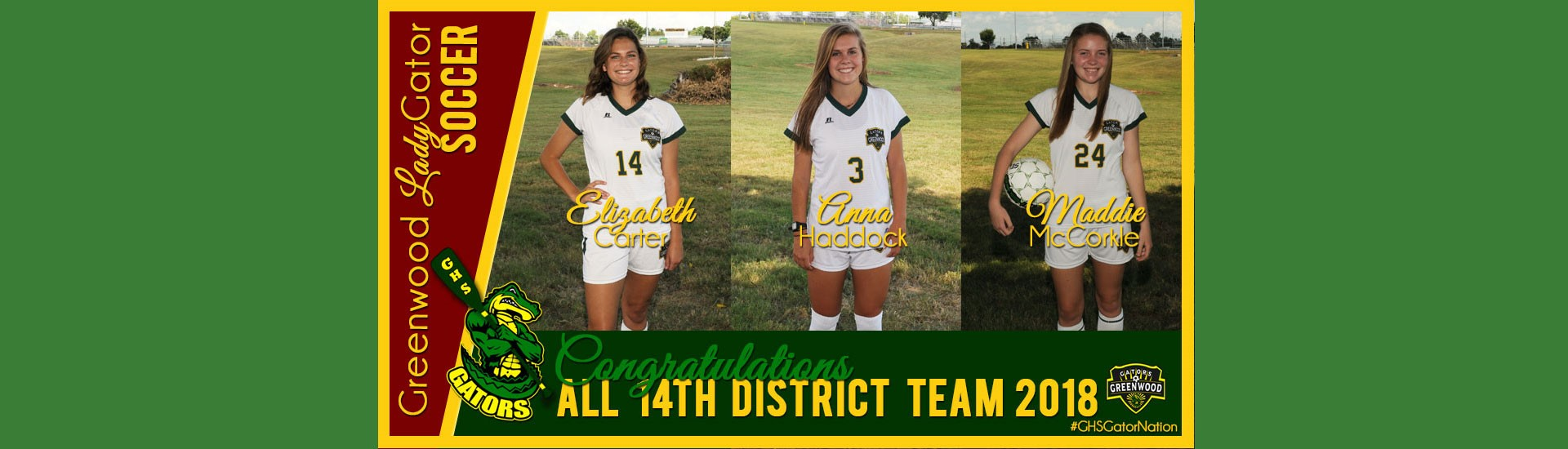 Girls All-District Soccer