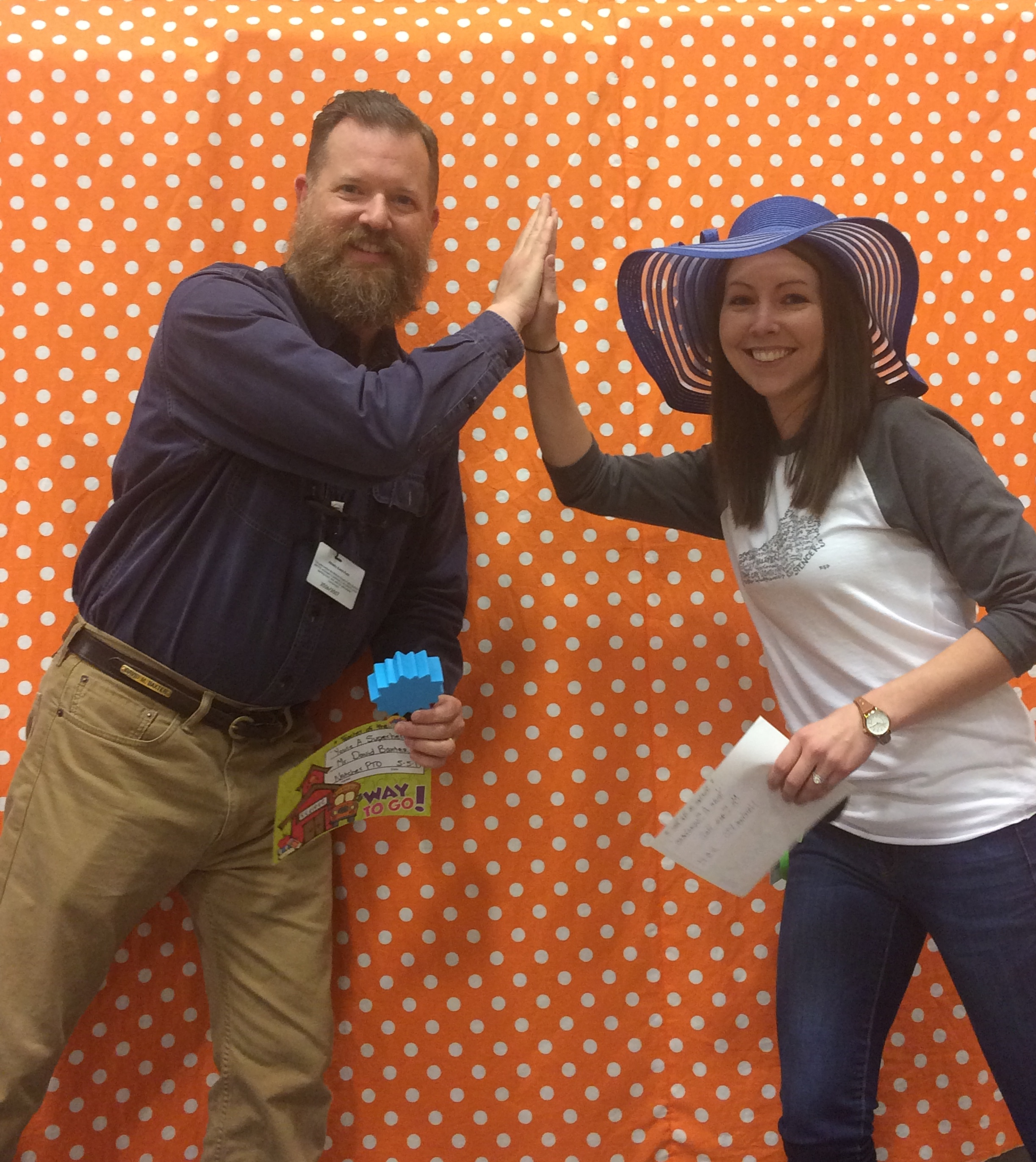"""You're a Superhero Award"" Teachers of the Year!: