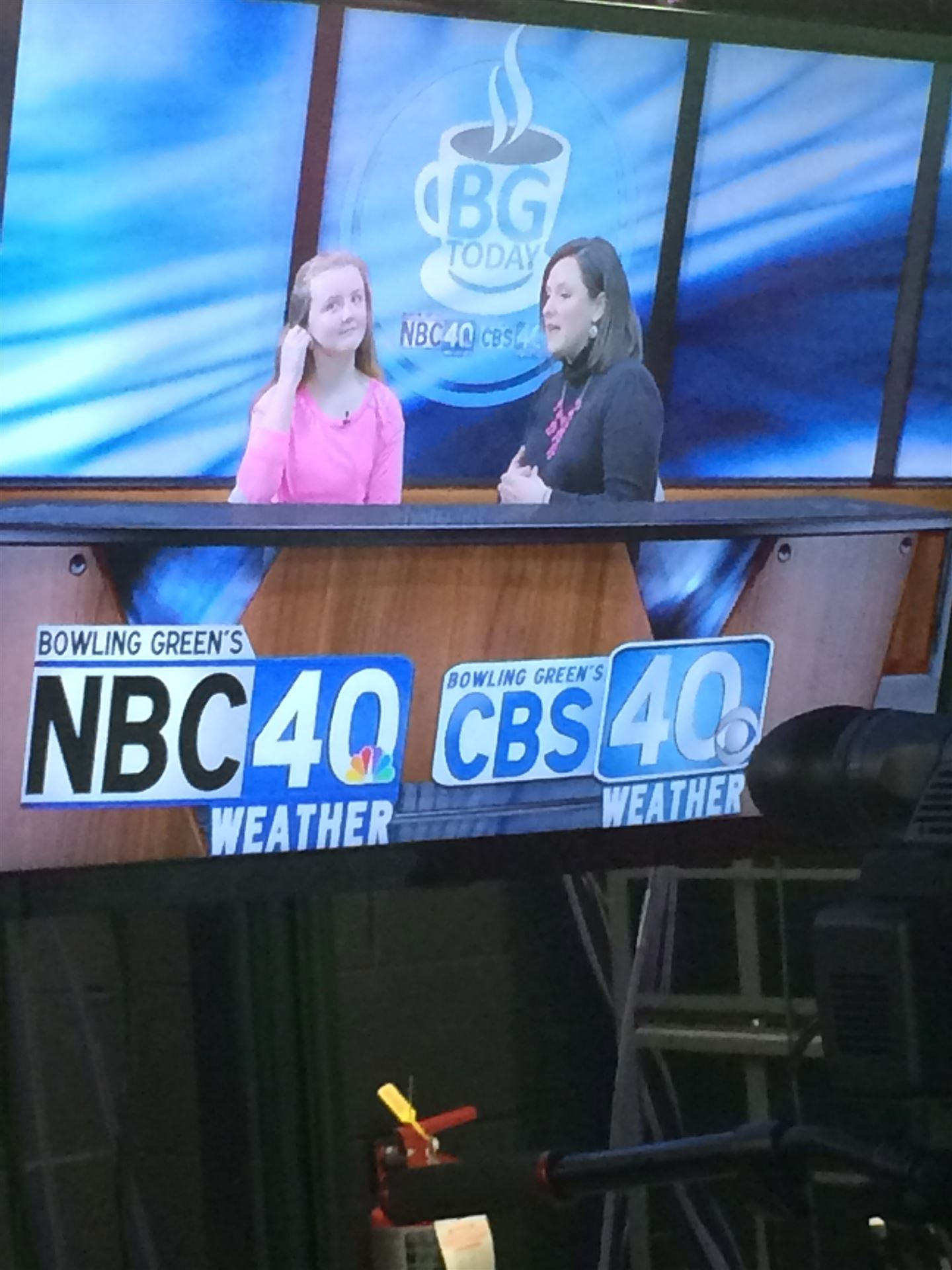 Natcher Drama Students on local news