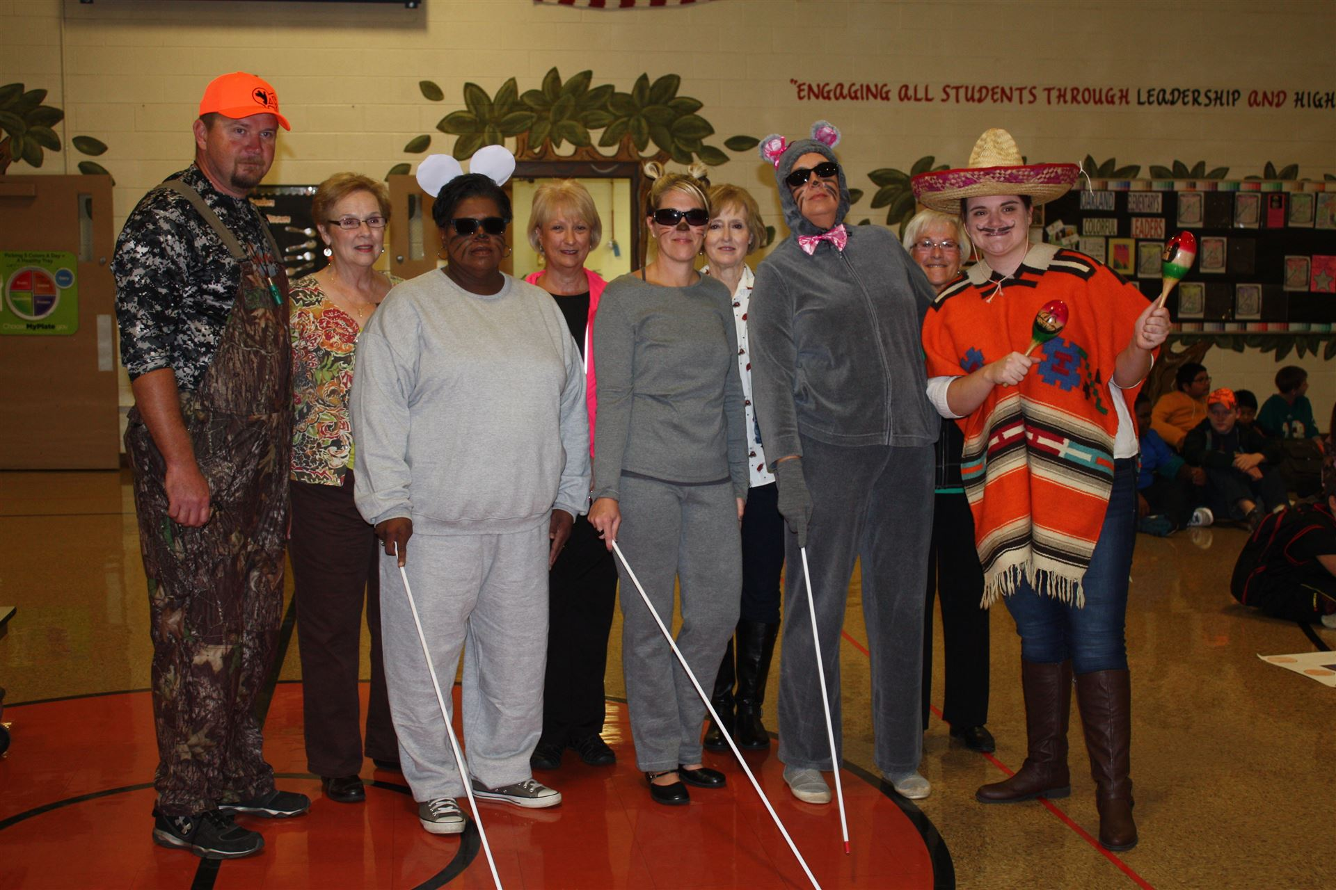 Faculty / Staff Halloween Dress Up Day 2014