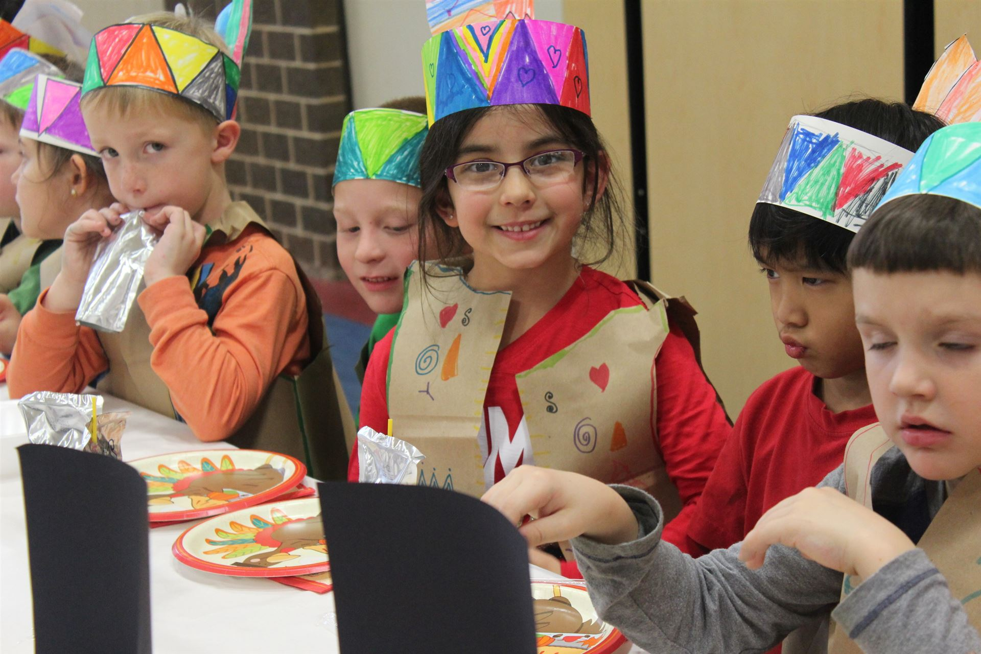 2014 First Grade First Thanksgiving
