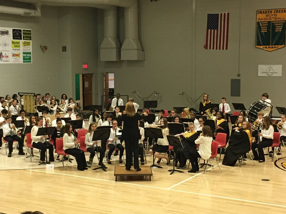 Band and Choir Holiday performances