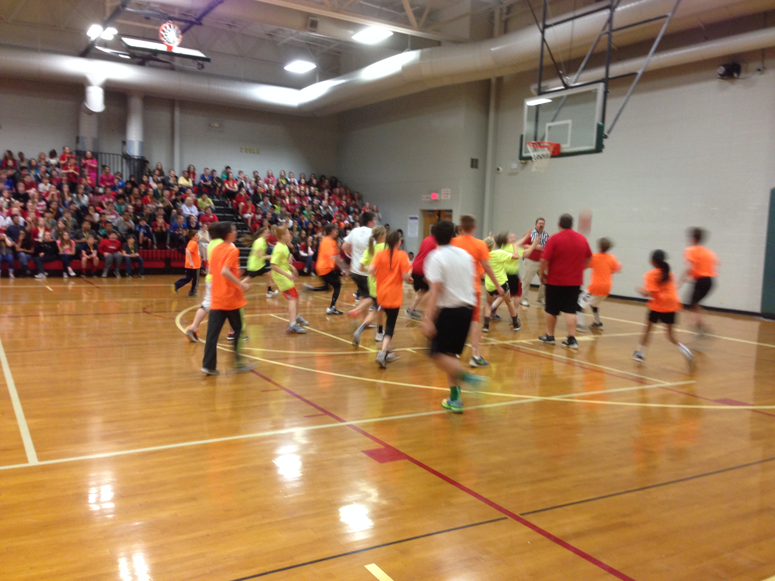 DCMS students raised $18,500.00 for the American Heart Association!