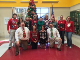 Ugly Christmas Sweater Contest 2015