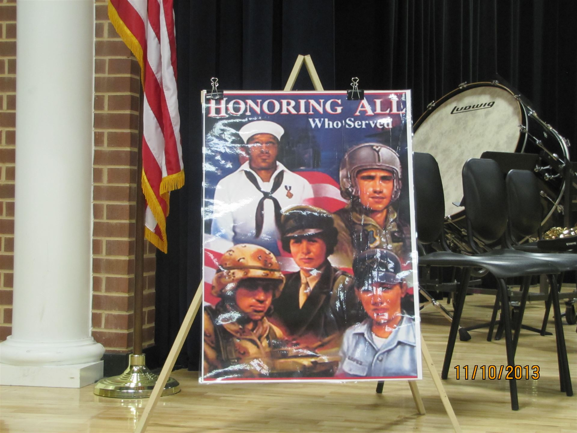2013 Veteran's Day Assembly