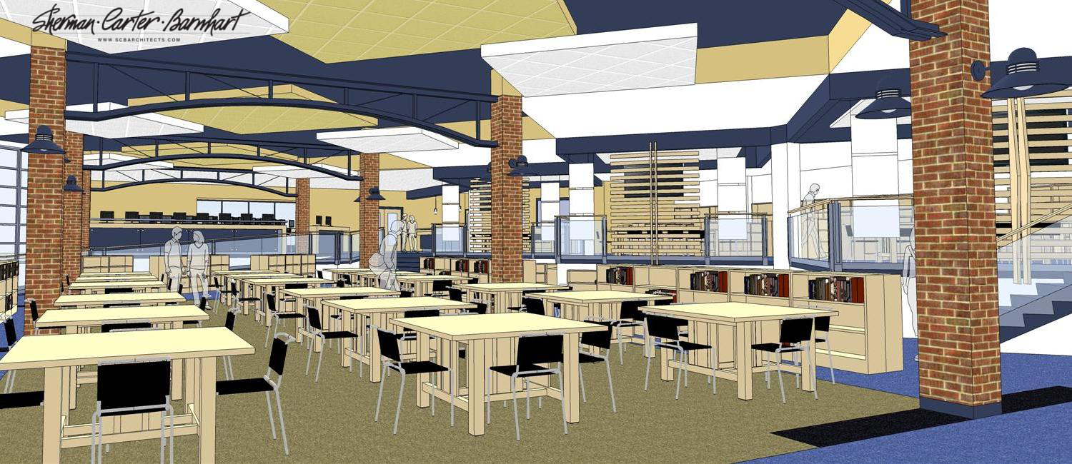 WCHS library renovation plans