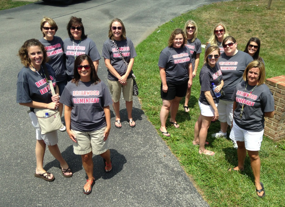 Briarwood staff welcomes students