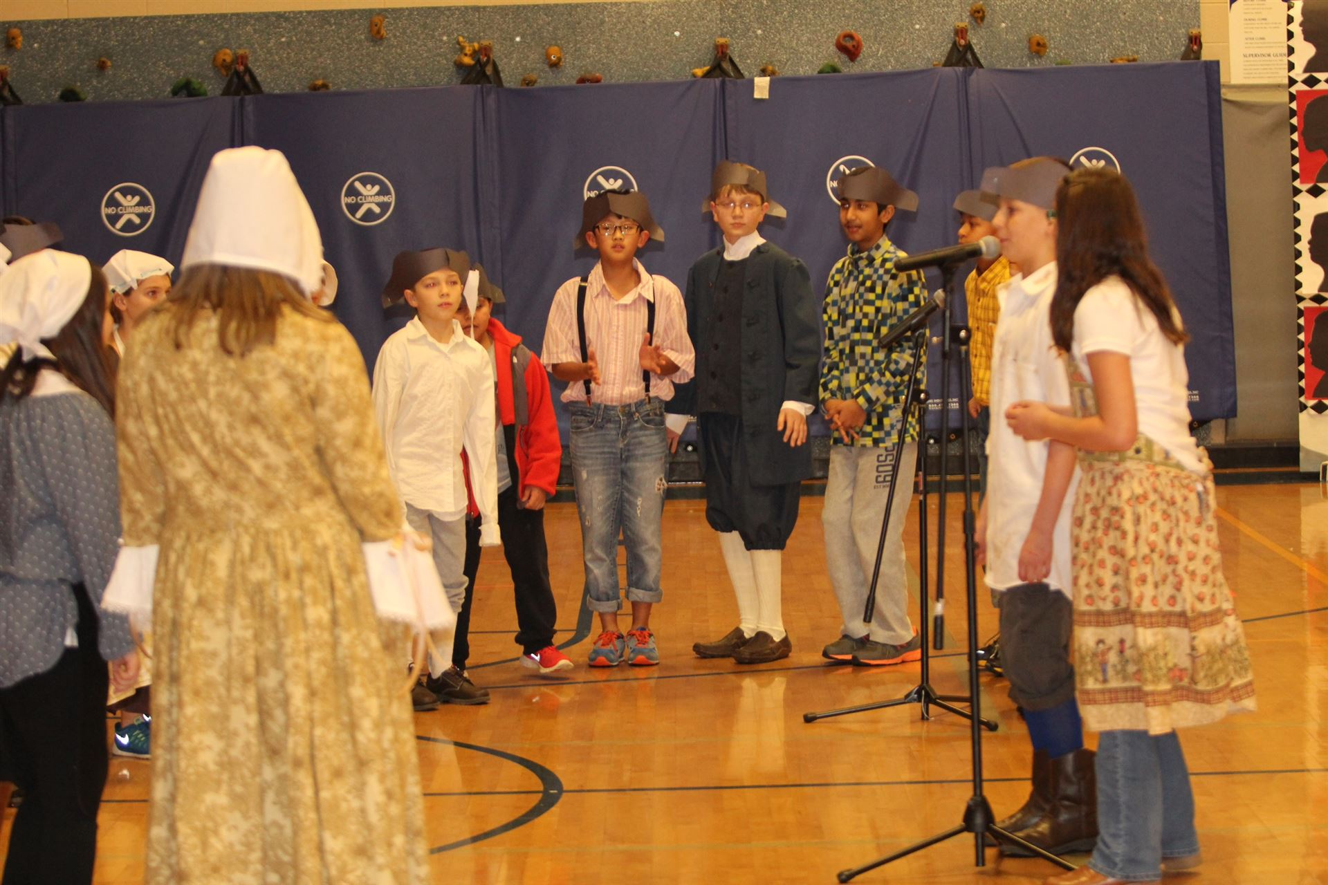 Colonial Celebration at Natcher Elementary
