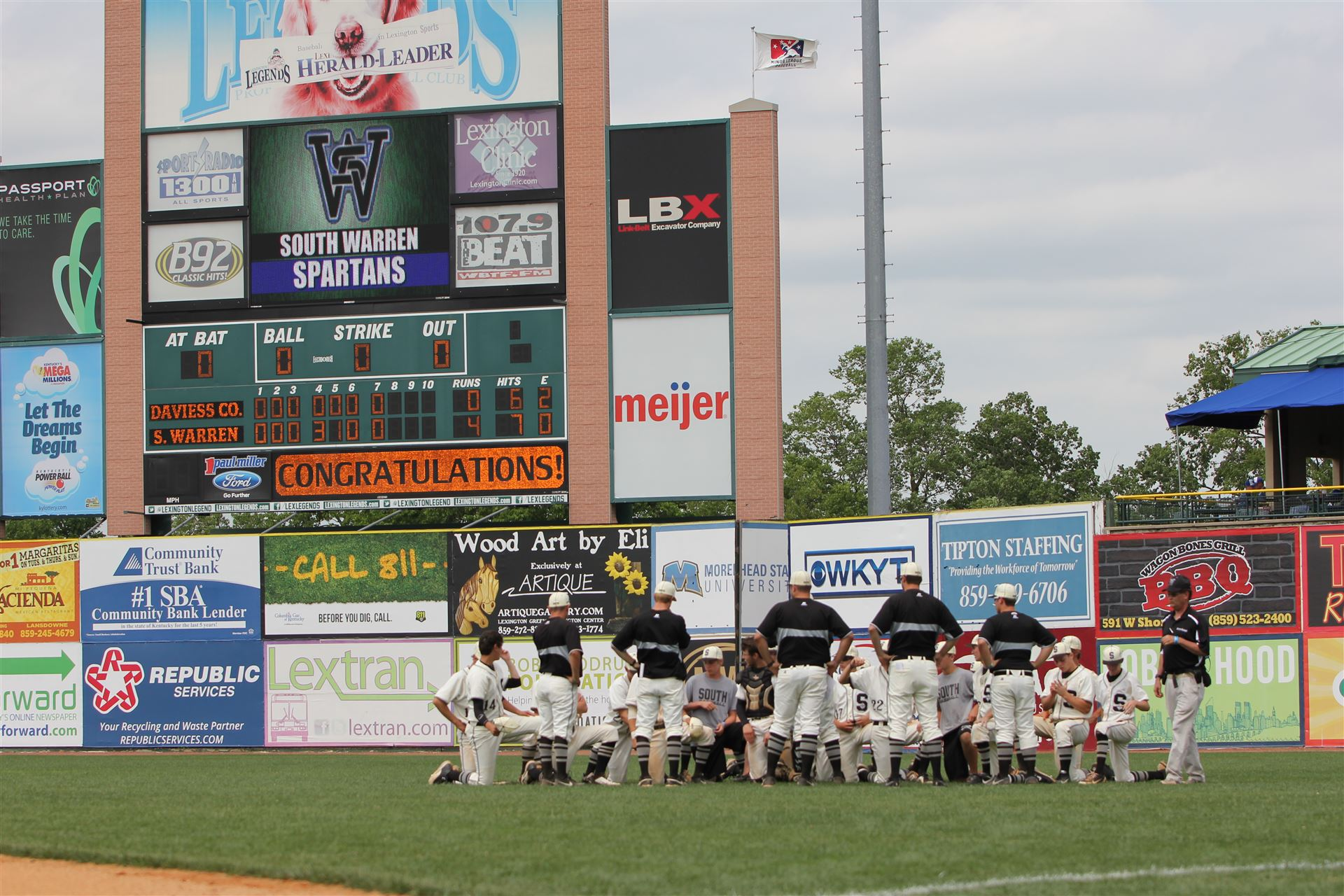 SWHS in state baseball tournament